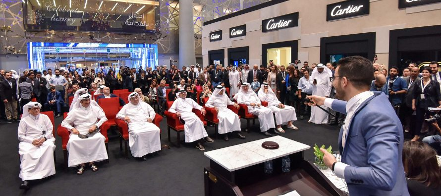 "Total Sold for ""Milestones' Auction Supporting Education Above All"" is 1,990,000 QAR"