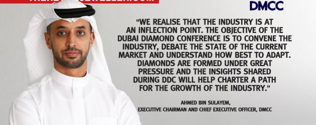 Disruption and Technology take Centre Stage at DMCC'S 'Dubai Diamond Conference' in September 2019
