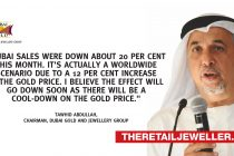 Dubai's gold souq weighed down by precious metal's fluctuating price