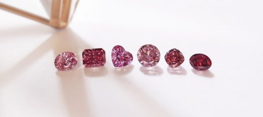 Rio Tinto's Finest Pink and Red Diamonds Displayed in Asia