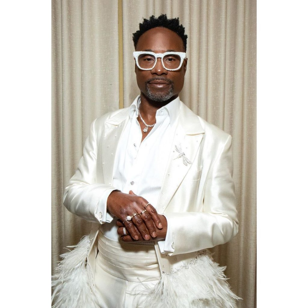 Billy Porter in Platinum by Tiffany & Co.