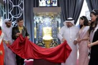 Toilet embedded with 40,000 diamonds reached Dubai