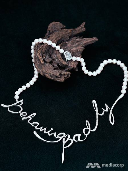 The Behaving Badly necklace